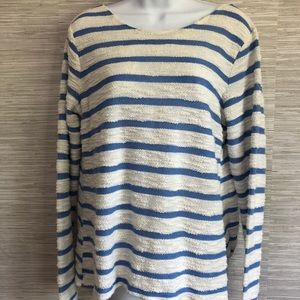 Sullivan and James Anthropologie Striped Top